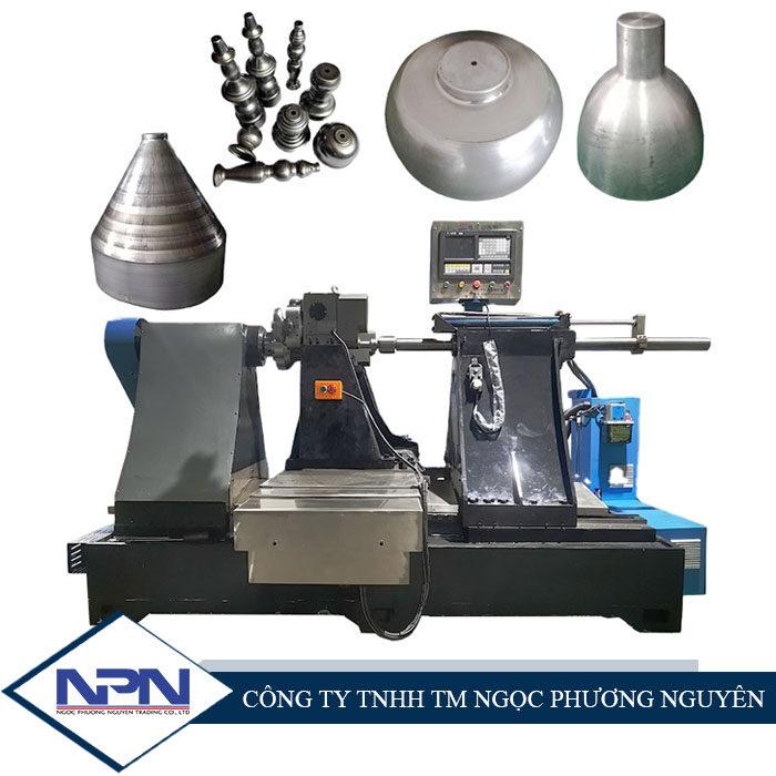 Máy tiện miết CNC X-1100 đôi (3 trục)