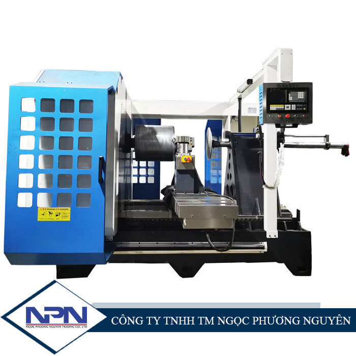 Máy tiện miết CNC X-1300 hai trục X (3 trục)